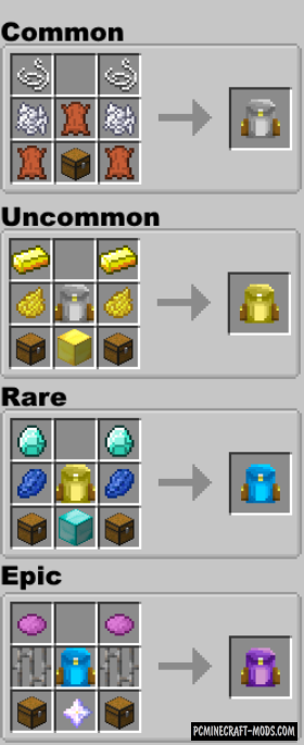 Simply Backpacks - Tools, Items Mod For Minecraft 1.15.1, 1.14.4