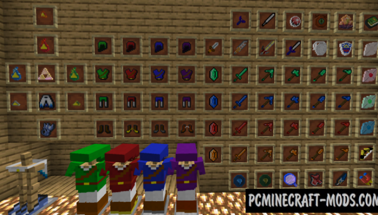 SupersLegend - Weapons, Magic Mod For Minecraft 1.14.4