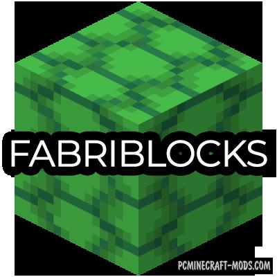 FabriBlocks - Decor Blocks Mod For Minecraft 1.16.2, 1.15.2