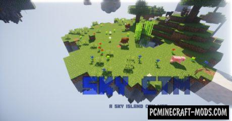 Sky CTM - Survival Map For Minecraft