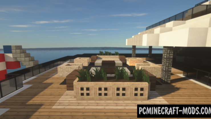 Megayacht Dalmatian Map For Minecraft