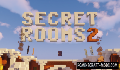 Secret Rooms 2 - Puzzle Map For Minecraft