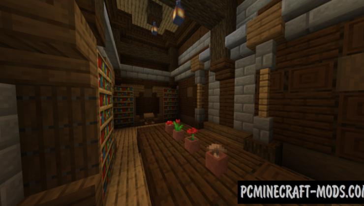Fancier Mansions Data Pack For Minecraft 1.14.4