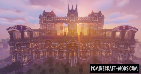Star Castle Map For Minecraft