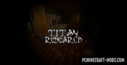 Titan Research - Adventure Map For Minecraft