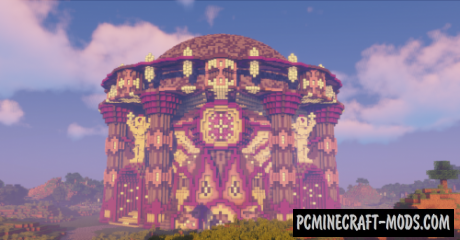 Minecraft Castle Tower - Castle Map For Minecraft