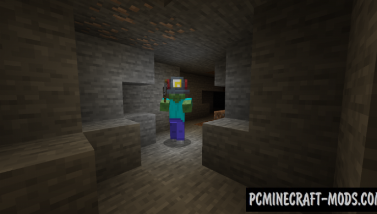 Miner's Helmet - Useful Armor Mod For MC 1.16.4, 1.15.2