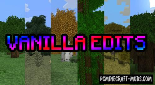 Vanilla Edits - 16x16 Texture Pack For Minecraft 1.15.1, 1.14.4