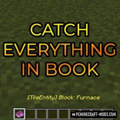 Catch Everything In Book - Tweak Mod For MC 1.15, 1.14.4