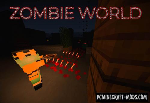 Zombie World - Defense, Minigame Map For Minecraft
