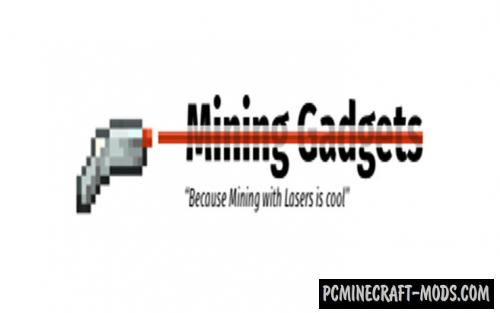 Mining Gadgets - Farm, Tech Mod For MC 1.16.5, 1.14.4