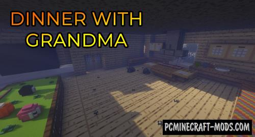 Dinner With Grandma - Finding Map For Minecraft