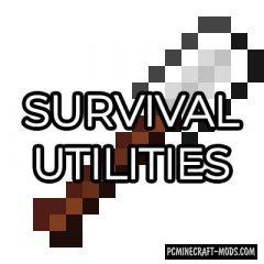 Survival Utilities - New Tools Mod For Minecraft 1.12.2