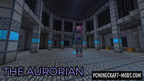 The Aurorian - Dimension Mod For Minecraft 1.12.2