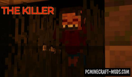 The Killer - Horror, Minigame Map For Minecraft