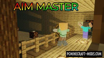 Aim Master - Train, Mini-Game Map For Minecraft