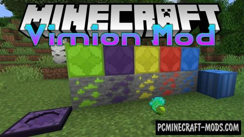 Vimion - New Ores Mod For Minecraft 1.14.4