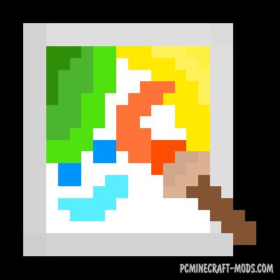 Joy of Painting - Decor Mod For Minecraft 1.16.4, 1.15.2