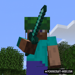 Sword Blocking Combat - Tweak Mod For MC 1.15.2, 1.14.4