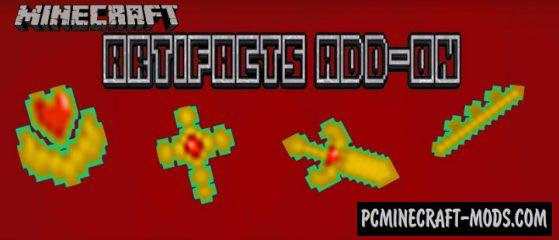 Artifacts Mod For Minecraft 1.14.0, 1.13.0 iOS/Android