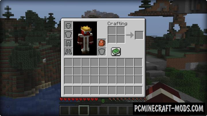 Backpacked - Tool, Armor Mod For MC 1.16.4, 1.15.2, 1.12.2