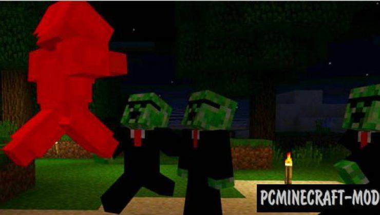 Friend Creeper Addon For Minecraft PE 1.17.0, 1.16.221
