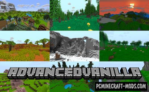 Enhanced Vanilla: Java Edition - Biome Mod For MC 1.16.4, 1.15.2, 1.14.4