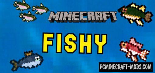 Fishy - Food Addon For Minecraft Bedrock 1.14.0, 1.13.0
