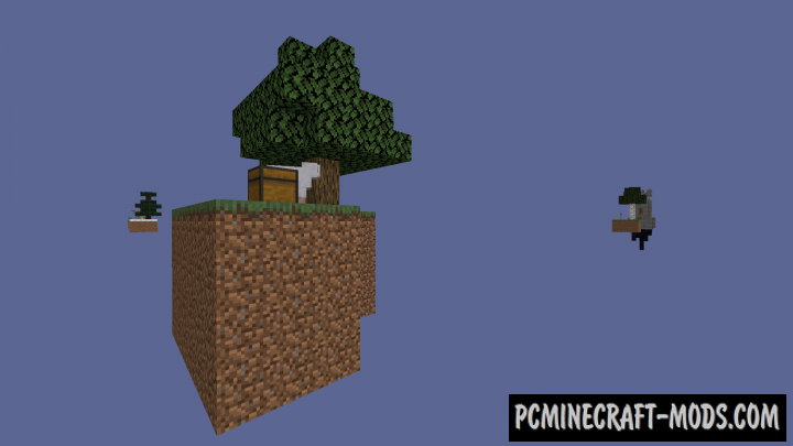 SkyBlock Biomes - Survival Map For Minecraft