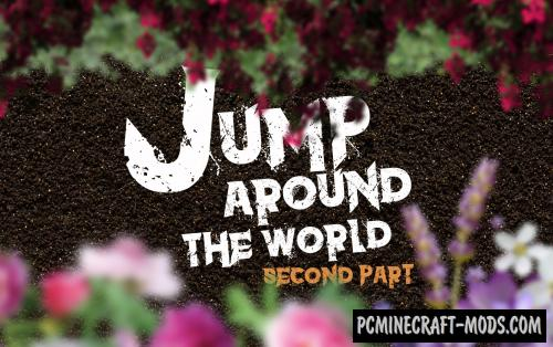 Jump Around the World 2 - Parkour Map For Minecraft