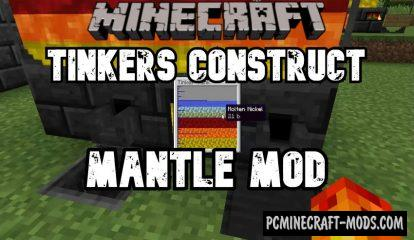 Mantle For Tinkers Construct Mod For Minecraft 1.16.5