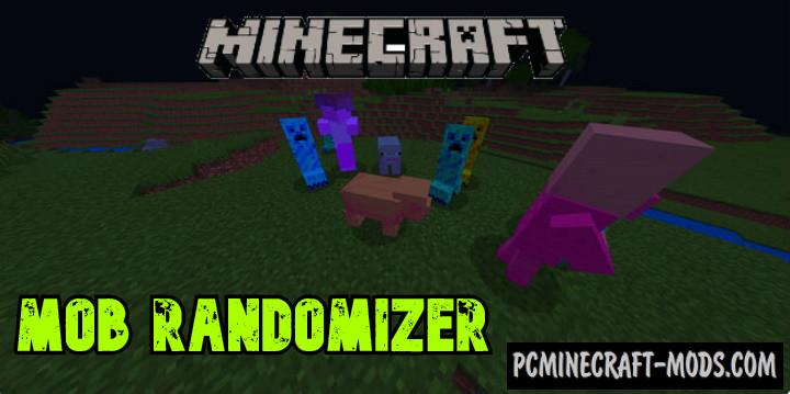 Mob Randomizer Addon For Minecraft PE 1.14.0, 1.13.0