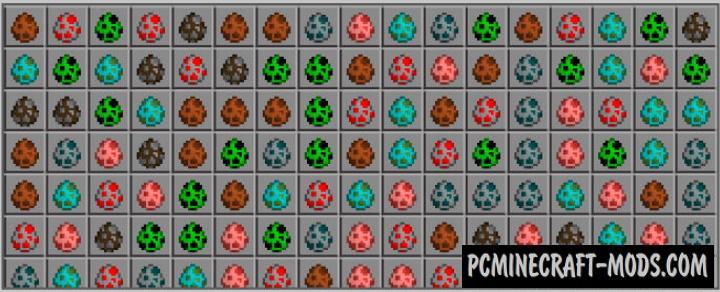 Mob Randomizer Addon For Minecraft PE 1.17, 1.16