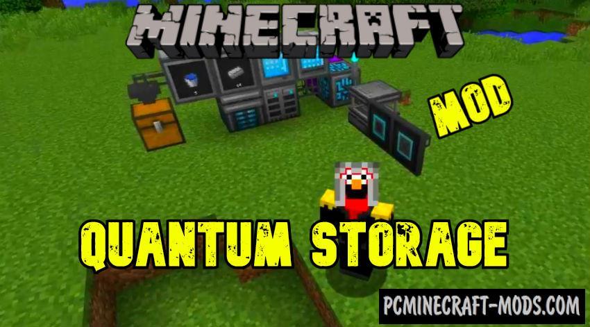 Quantum Storage - Technology Mod Minecraft 1.16.5, 1.15.2