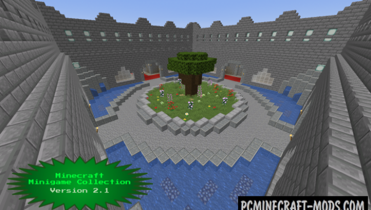 Minigame Collection - Mini-Games Map For Minecraft