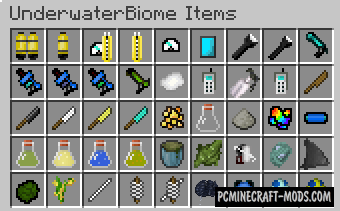 Underwater Biome - New Biomes Mod For MC 1.15.1, 1.14.4