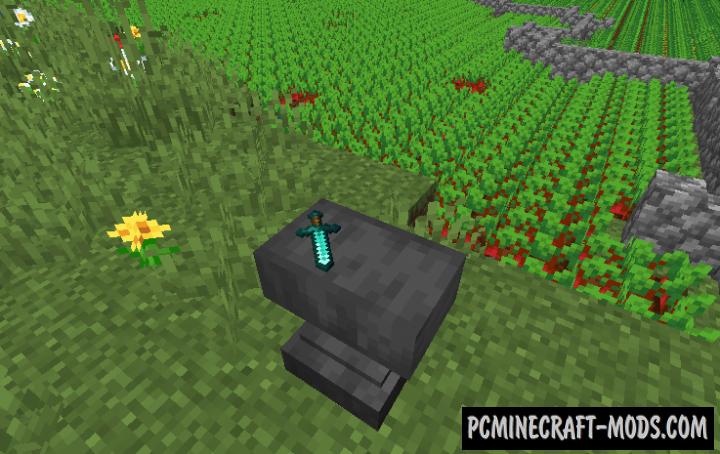 Anvil - Tweaks Mod For Minecraft 1.16.5, 1.15.2, 1.14.4
