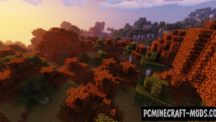 Autumn Default 16x Resource Pack For Minecraft 1.14.4