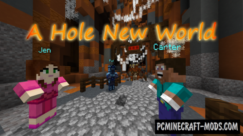 A Hole New World - Adventure Map For Minecraft
