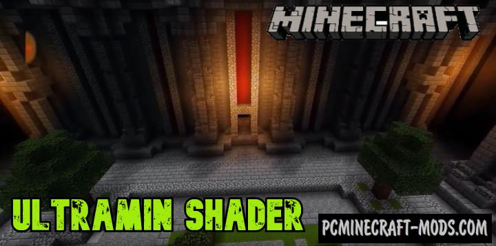 UltraMin Shader 1.0.1 Mod For Minecraft PE 1.14, 1.13 iOS/Android