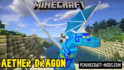 Aether Dragon Addon For Minecraft PE 1.14.0, 1.13.1