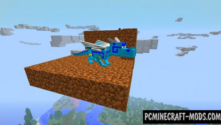 Aether Dragon Addon For Minecraft PE 1.17.0, 1.16.221