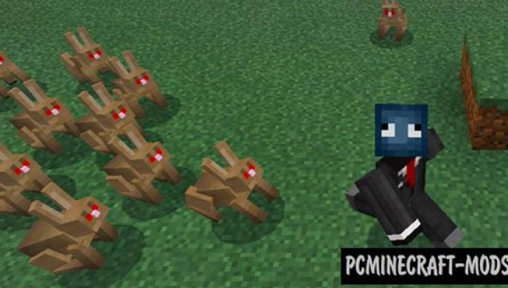 Angry Animals Addon For Minecraft Bedrock 1.17, 1.16