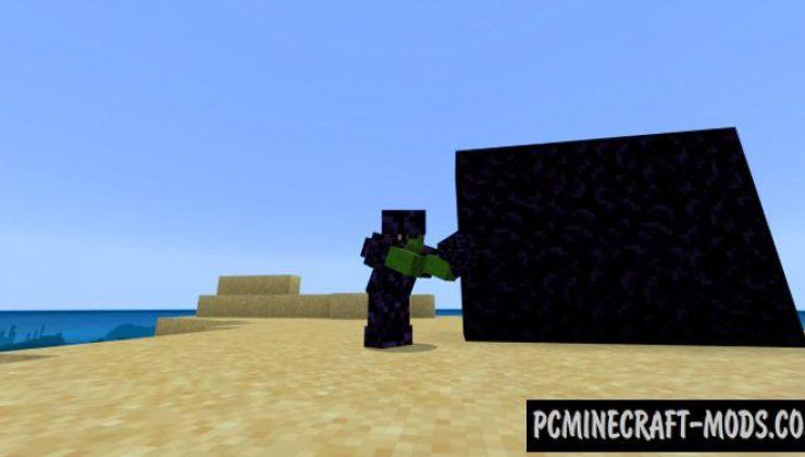 Custom Armor Addon For Minecraft PE 1.17.0, 1.16.221