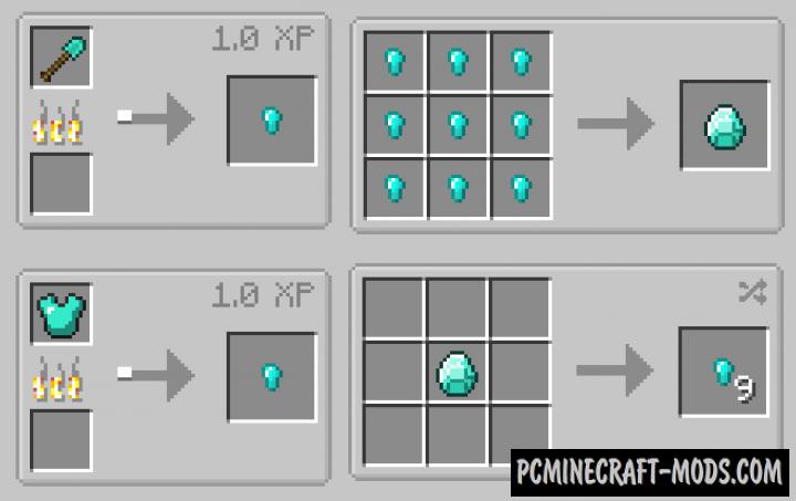 Convenient Crafts - Vanilla Tweaks Mod For Minecraft 1.12.2
