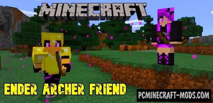 Ender Archer Mod For Minecraft Bedrock 1.14, 1.13