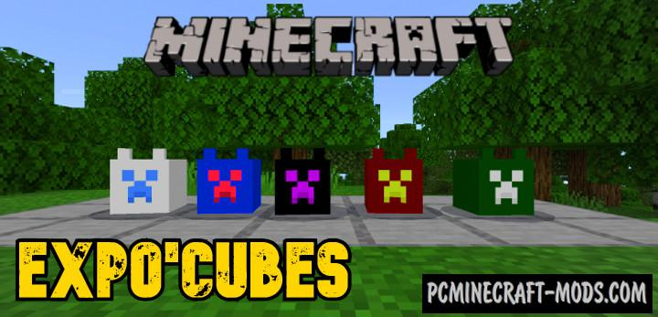 Explo'cubes Addon For Minecraft PE 1.17.0, 1.16.221
