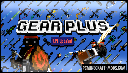 GearPlus Resource Pack For Minecraft 1.15.2, 1.13.2, 1.12.2
