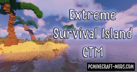 Extreme Survival Island - Finding Map For Minecraft