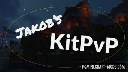 Jakob's KitPvP - PvP, MiniGame Map For Minecraft